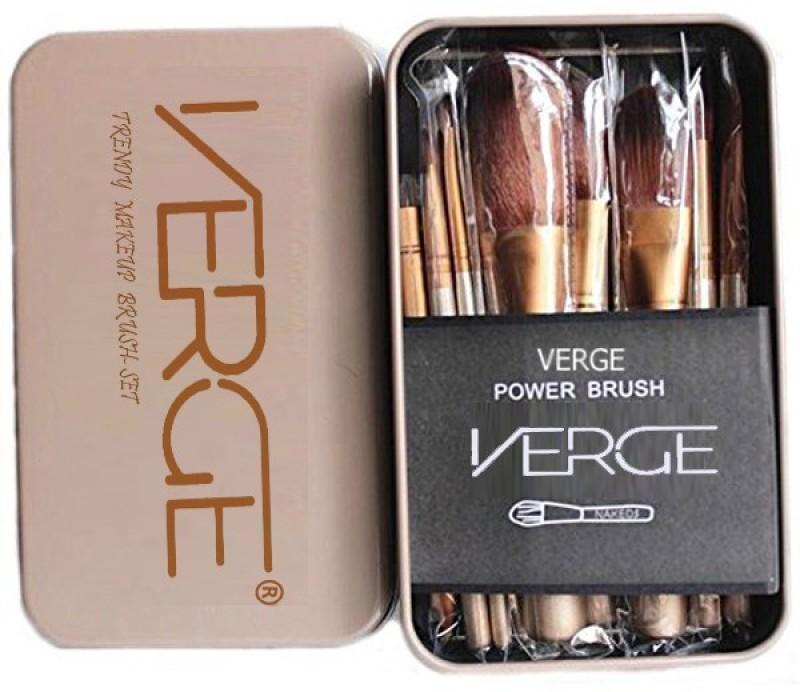 VERGE 12pcs Cosmetic Makeup Brush Set(Pack of 12)