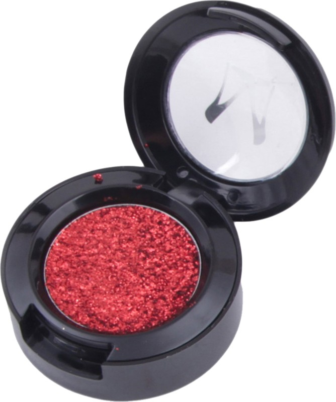 MISS ROSE Professional Glitter Eye Shadow Highly Pigment SHADE -6 - 1.8 g(MAROON)