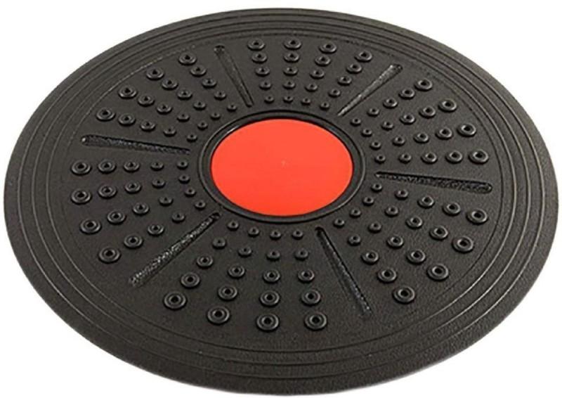 Foricx Wobble Board Fitness Balance Board (Black) Balance Disc Fitness Balance Board(Black)