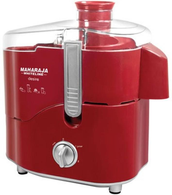Maharaja Whiteline MaharajaWhiteline_Desire 550 Juicer Mixer Grinder(Red, 3 Jars)