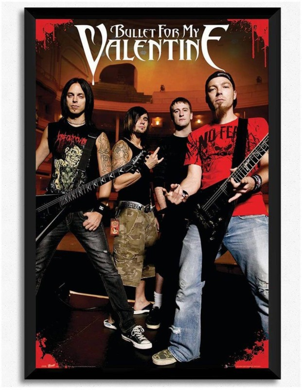 ASHD Bullet for My Valentine Wall Poster Fine Quality Matte Finish ASHDATHHLYWDKYWRDPOS16904 Paper Print(18 inch X 12 inch, Rolled)