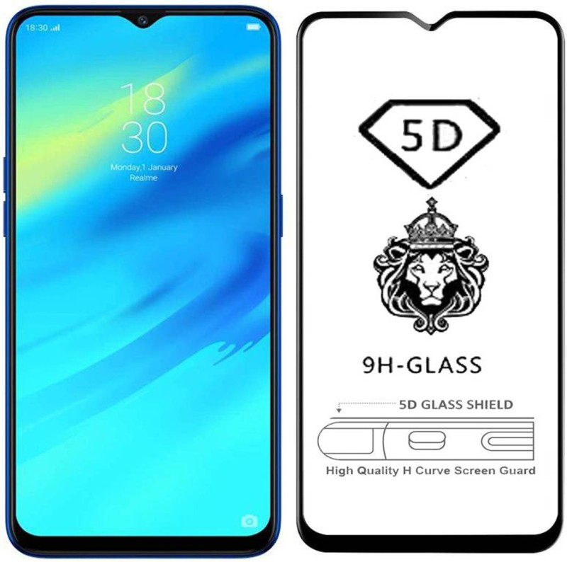 CEDO XPRO Edge To Edge Tempered Glass for Oppo F9, OPPO F9 Pro, Realme 2 Pro, Realme U1, Realme 3 Pro(Pack of 1)