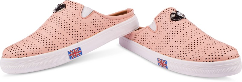 Krafter SLIP ON Casuals For Women(Pink)