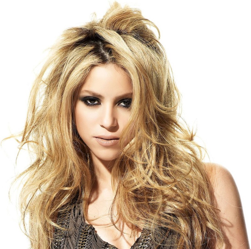 AnanyaDesigns Shakira Fine Quality Wall Poster Paper Print(18 inch X 12 inch, Rolled)