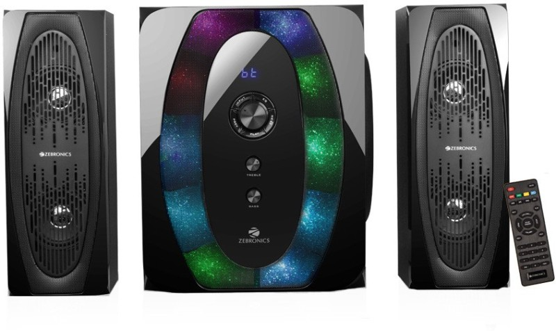 Zebronics Halo 2 91 W Bluetooth Home Theatre(Black, 2.1 Channel)