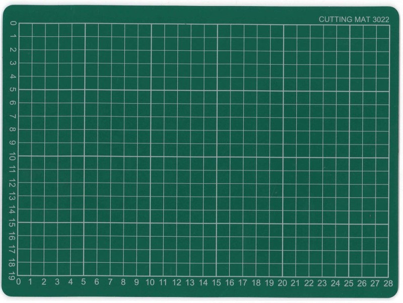 CRAFTWAFT A4 SIZE FLEXIBLE Cutting Mat(297 mm x 210 mm)