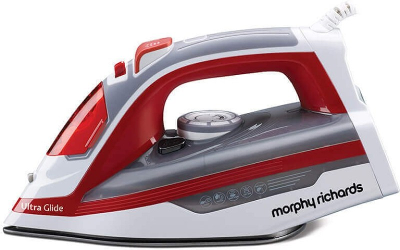 Morphy Richards Ultra Glide 1600 Steam Iron(Red, White, Grey)