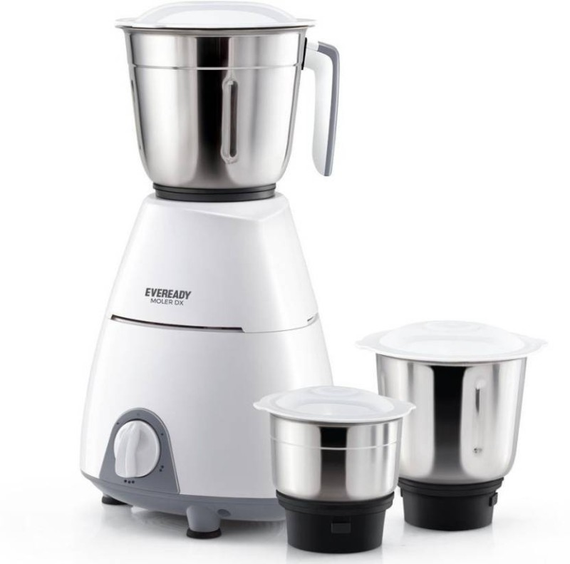 Eveready D02021829314 DYNAMODX 230 Juicer Mixer Grinder(White, 3 Jars)