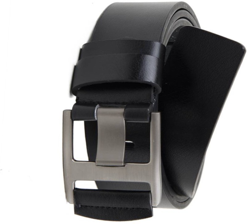 Variety & Capture Men Casual Black Artificial Leather Belt