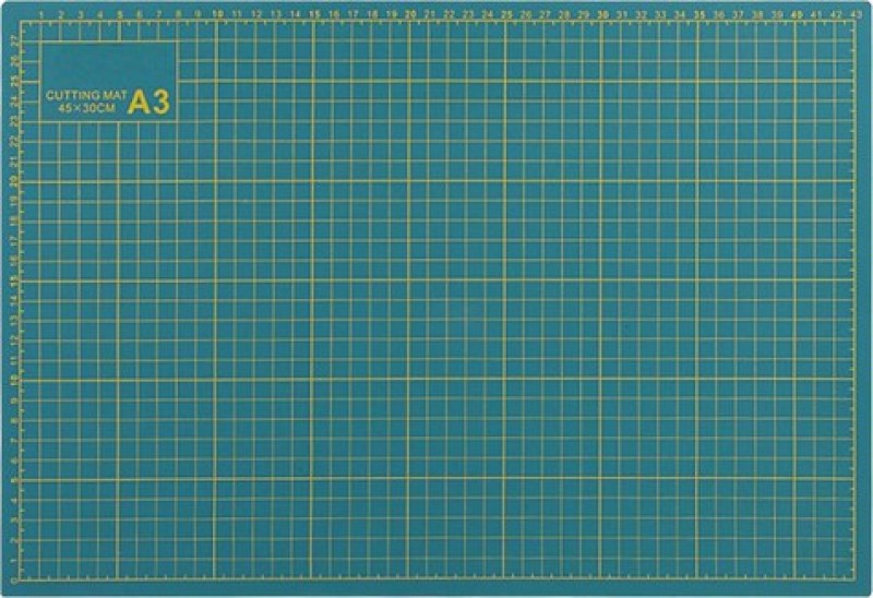 CRAFTWAFT A3 SIZE FLEXIBLE DOUBLE SIDE Cutting Mat(42 cm x 29.7 cm)
