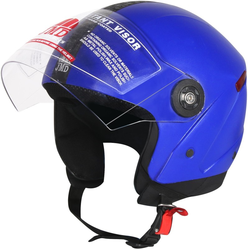 JMD Grand With Reflector BLUE (L-SIZE) Motorbike Helmet(Blue)