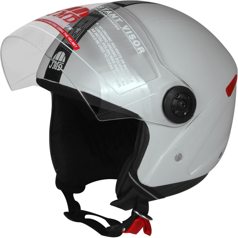 JMD Grand With Reflector GREY (L-SIZE) Motorbike Helmet(Grey)