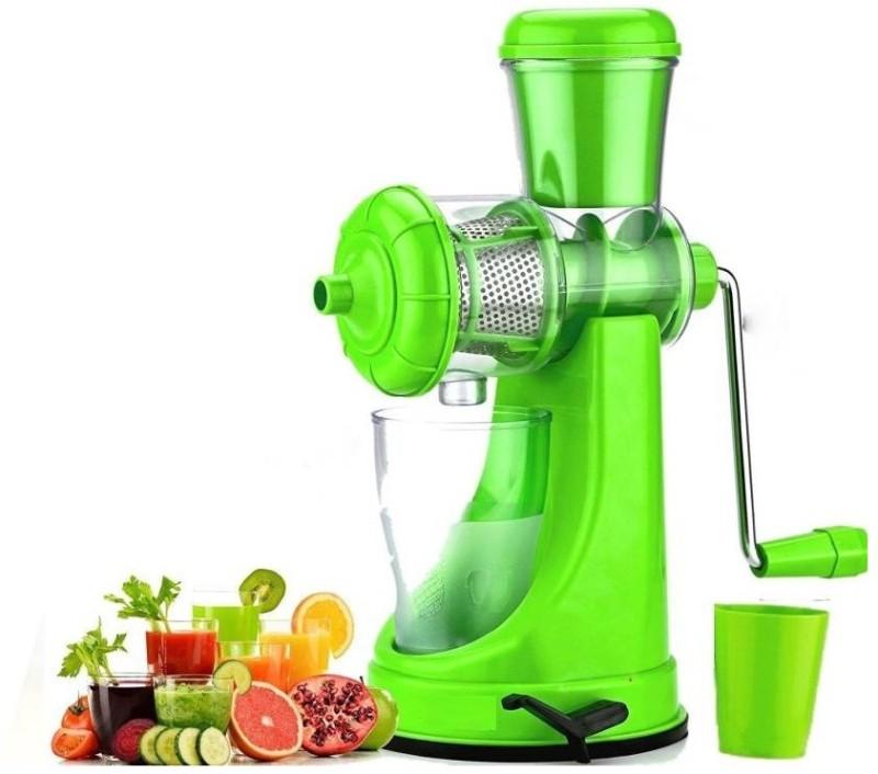 Tom & Gee 0 W Juicer Fruit and Vegetable 0 Juicer(Green, 1 Jar)