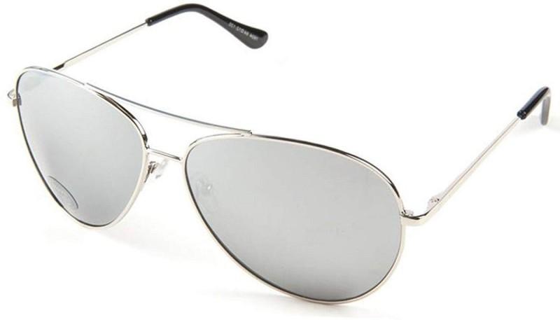 Spexra Aviator Sunglasses(Silver)
