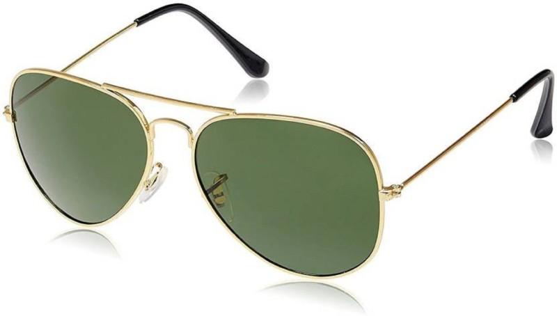 spexra Aviator Sunglasses(Green)