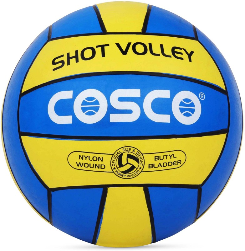 Cosco SHOT Volleyball - Size: 4(Pack of 1, Multicolor)