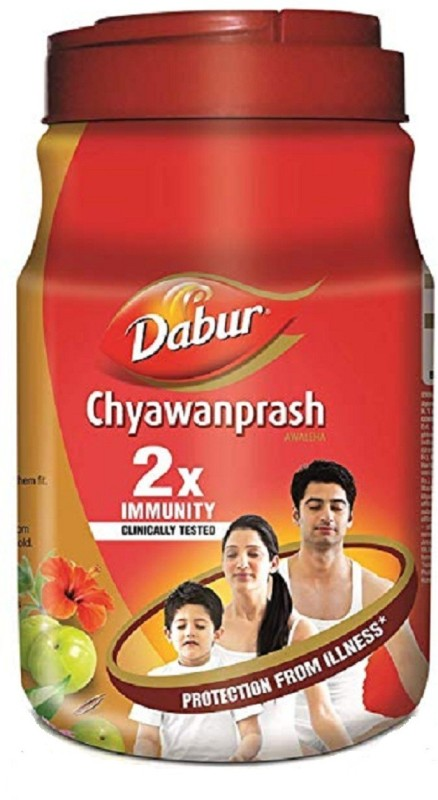 Dabur Double Immunity Chyawanprash set of 2 each 1 kg(1 kg)