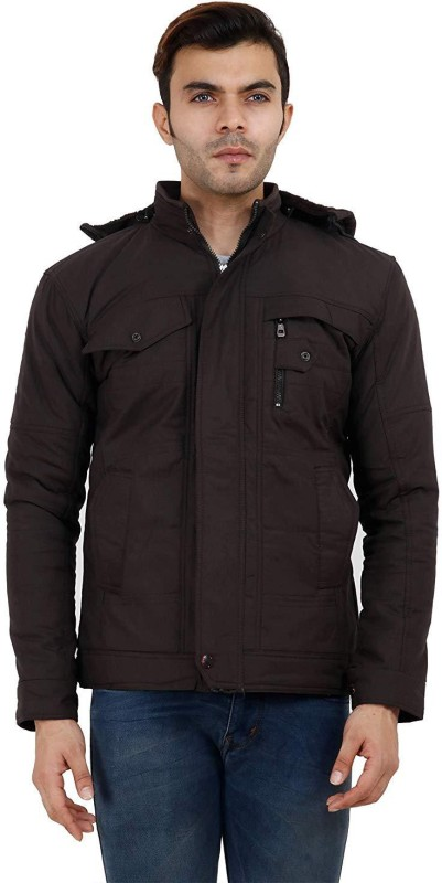 hot touch Full Sleeve Solid, Self Design Men Jacket