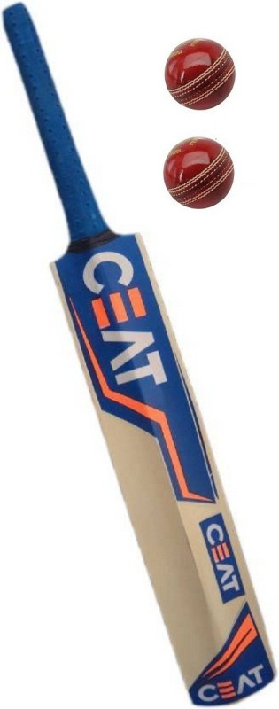 CEAT SRS NEW BAT COMBO (CEAT BAT+2 LEATHER BALL) Cricket Kit