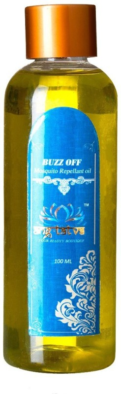 ANG-TATVA 100% Pure & Natural BUZZ OFF Mosquito Repellant Oil - For All Skin Type - 100ML Mosquito Vaporiser Refill