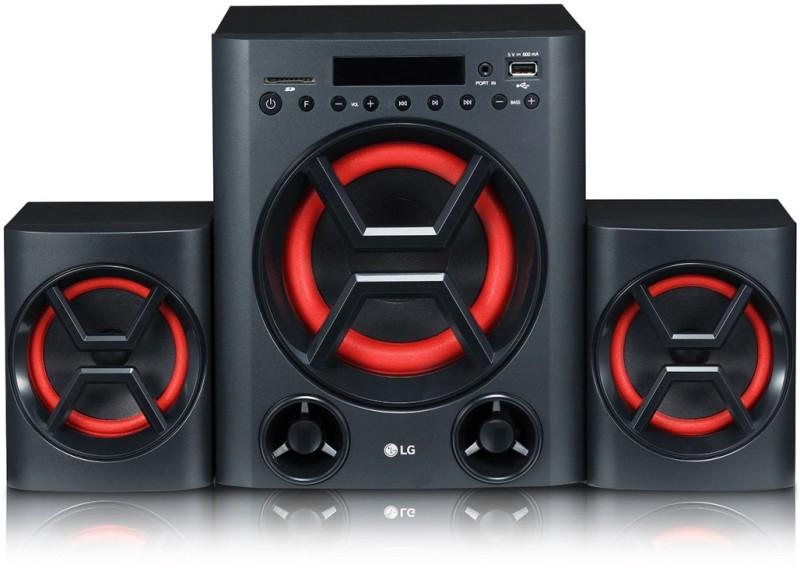 LG LK72B 40 W Bluetooth Home Audio Speaker(Black, 2.1 Channel)