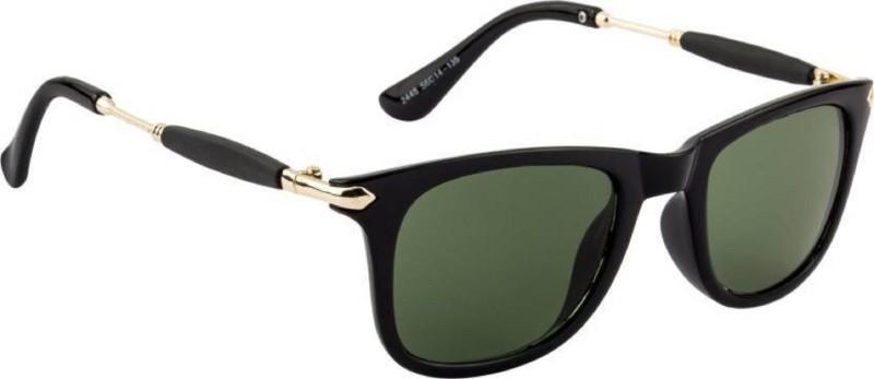 Spexra Rectangular Sunglasses(Green)