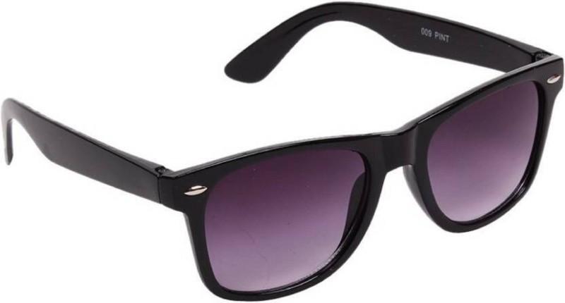 Spexra Wayfarer Sunglasses(Black)
