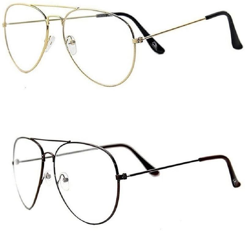 spexra Aviator Sunglasses(Clear)