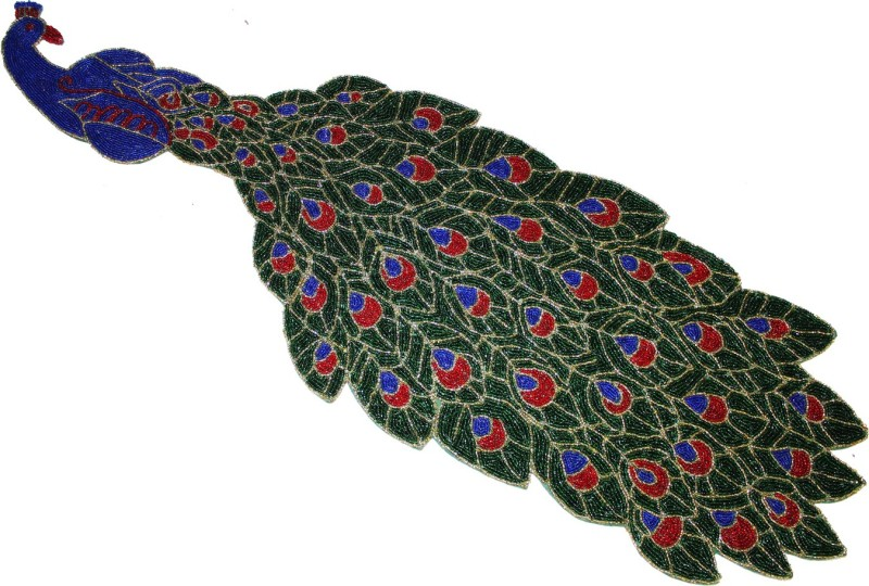 Eco Haat Multicolor 85 cm Table Runner(Synthetic)