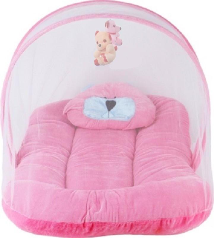 Aayat Kids Velvet Bedding Set(Multicolor7, Bedding Set with Hanging Toys)