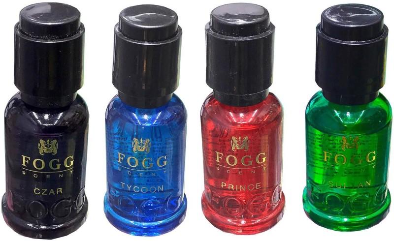 Fogg SCENT Gift Pack EAU DE PARFUM PRINCE, CZAR, TYCOON & SULTAN Pack Of 4 Pocket Perfume - For Men & Women(60 ml)