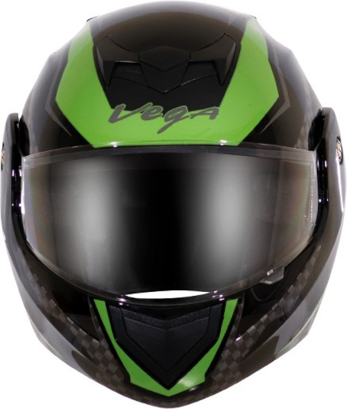 VEGA VEGAAUTO ACCESSORIES PVT LTD Motorbike Helmet(CRUX DX CHEKERS)