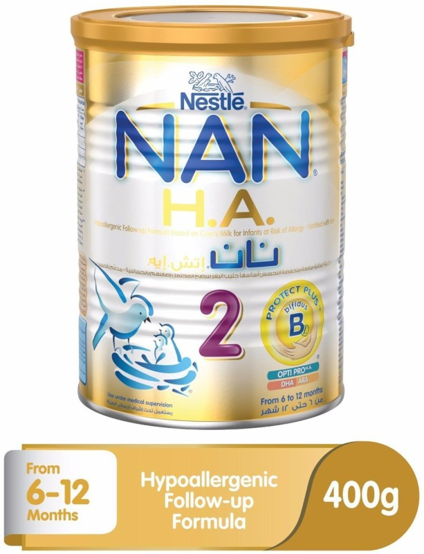 Nestle Nan (H.A.) Hypoallergenic 2(400 g, Pre-term)