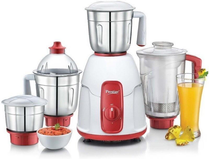 Prestige ELEGANT 750w 750 Juicer Mixer Grinder(Multicolor, 4 Jars)