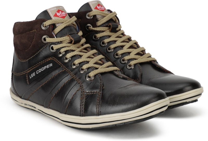 Lee Cooper High Tops For Men(Brown)