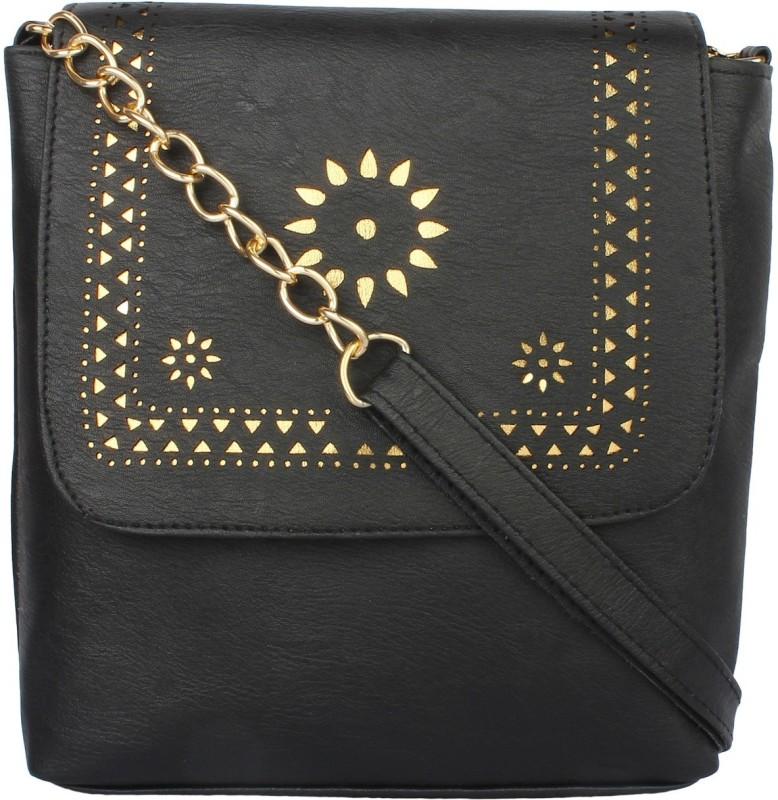 SAHAL Black Sling Bag