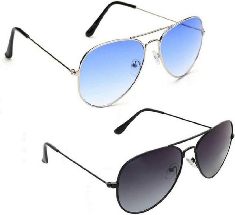 Spexra Aviator Sunglasses(Violet)