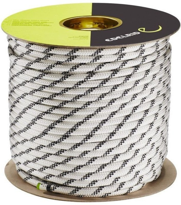 Edelrid Performance Static 9 mm 100 Mtr Climbing Rope Snow(Length: 100 m, Diameter: 9 mm)