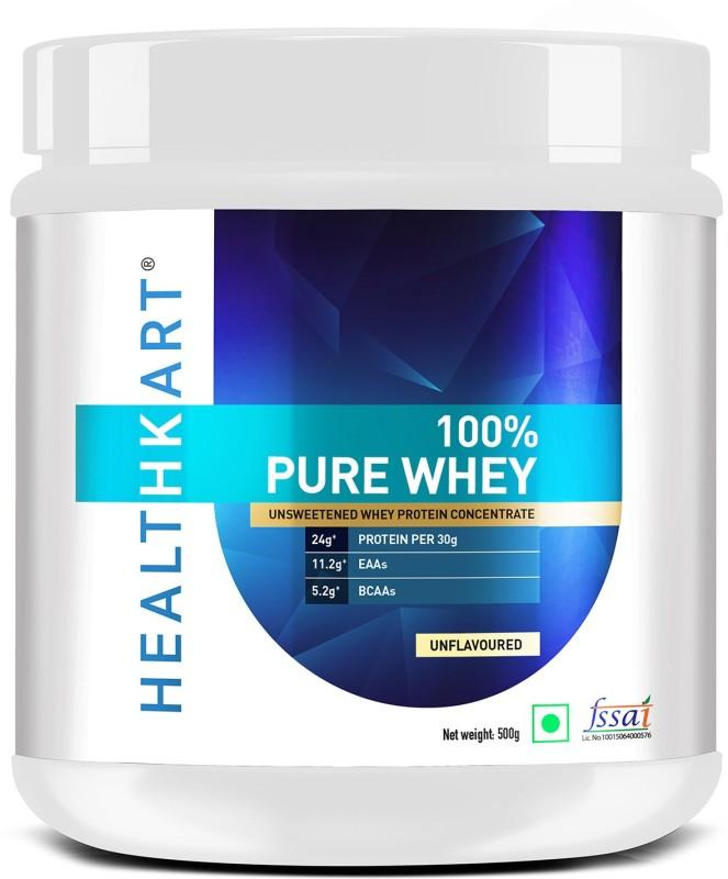 Healthkart 100% Pure Whey Protein(500 g, Unflavoured)