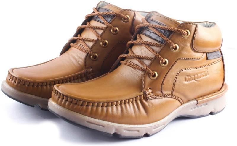 chapman Chapman – Leather Stylish Boots For Men (Tan) Boots For Men(Tan)