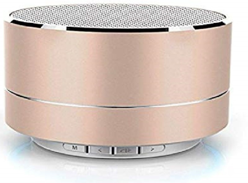 Azacus A10 Aluminum Mini Super Bass Wireless Portable Bluetooth Speaker with TF Card Supported 5 W Bluetooth Speaker(Multicolor, Stereo Channel)