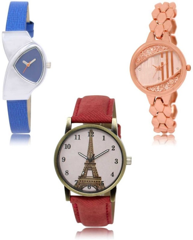 SVM LR-208-222-230 Best Selling Combo Analog Watch  - For Women