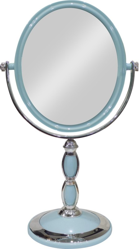 Bueno Double Sided Standing Mirror For Table, Mirror For Decorative Purposes, Makeup Mirror For Girls And Women, Salon And Parlour Use Mirror, Pack Of 1