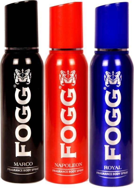 Fogg Marco, Napolean,Royal Deodorant Spray - For Men & Women(360 ml, Pack of 3)
