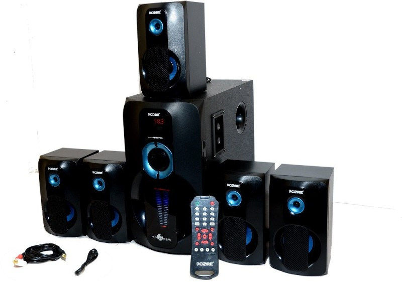9 CORE WINTY 5.1 Home Cinema(USB,BLUETOOTH,AUX,FM,MMC CARD)
