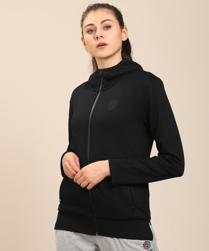 Puma Full Sleeve Solid Women's Jacket