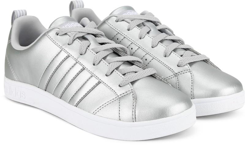 ADIDAS VS ADVANTAGE Sneakers For Women(Silver)