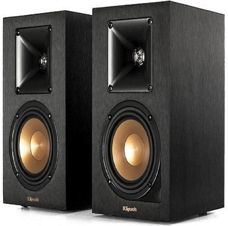 Klipsch Reference R-14PM Powered Bookshelf Speakers With Bluetooth® And Built-in Phono Preamp 70 W Bluetooth Home Audio Speaker(Black, 2.0 Channel)