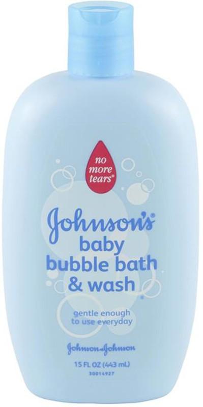 Johnson's Bubble Bath & Wash - 443ml (15oz) (USA)(443 ml)