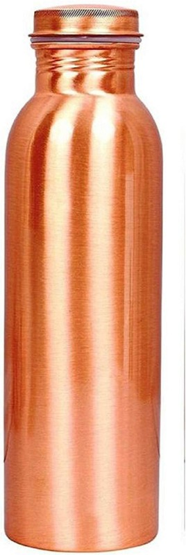 ayur patra Jointless copper Bottle 750 Bottle(Pack of 1, Brown)